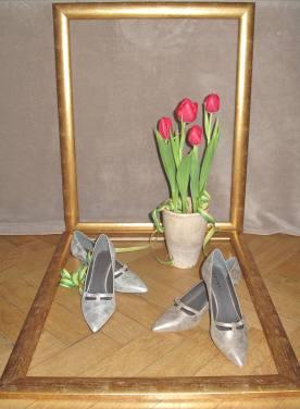 Sehnsucht nach dem Frühling bewog FroschköniginR zum Kauf dieser Schuhe.